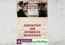 Projet CNRD 2019-2020 : Exposition 1940, Entrer en Résistance