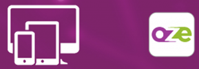 L'application oZe mobile sur Androïd et IOS